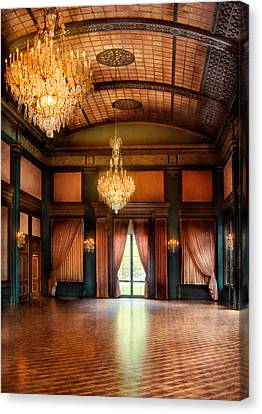Other - The Ballroom Canvas Print by Mike Savad