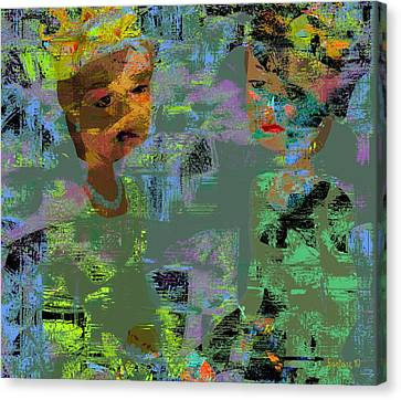 Other First Ladies  Canvas Print by Fania Simon