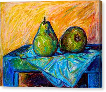 Other Pears Canvas Print by Kendall Kessler