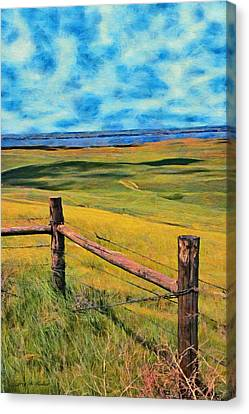 Other Side Of The Fence Canvas Print by Jeff Kolker