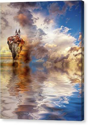 Other Worlds Canvas Print by Jacky Gerritsen