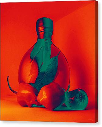 Otherworldly Habaneros Canvas Print