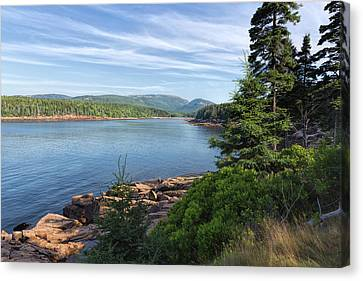 Canvas Print featuring the photograph Otter Cove by John M Bailey