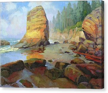 Otter Rock Beach Canvas Print