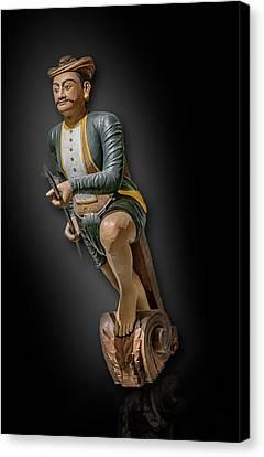 Ottoman Empire Warrior Figurehead Canvas Print by Gary Warnimont