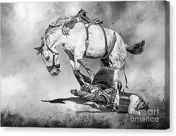 Ouch Canvas Print by Eleanor Abramson