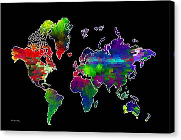 Our Colorful World Canvas Print