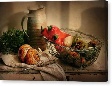 Our Daily Bread Canvas Print by Diana Angstadt