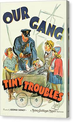Our Gang 1939 Canvas Print