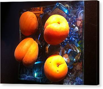 Our Juicy Apricots Canvas Print