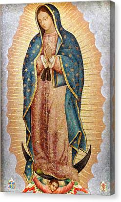 Our Lady Of Guadalupe Canvas Print by Ariel Pedraza