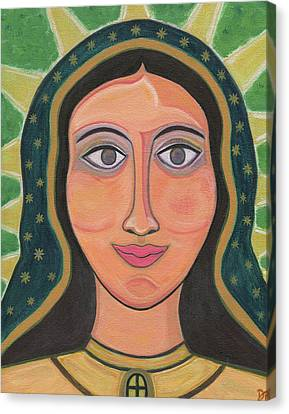 Our Lady Of Guadalupe Canvas Print by Danielle Tayabas