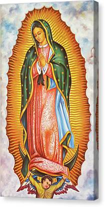 Our Lady Of Guadalupe Canvas Print - Our Lady Of Guadalupe by Munir Alawi
