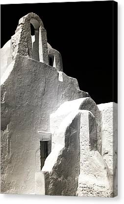 Panagia Canvas Print - Our Lady Of The Side Gate Infrared by John Rizzuto