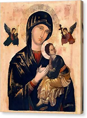 Our Mother Of Perpetual Help Canvas Print