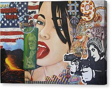 Our New World Order Canvas Print by Randy Segura