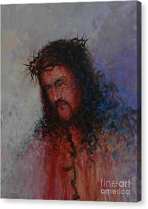 Our Precious Savior Canvas Print by Michael Nowak