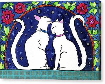 Our Purrfect Universe Canvas Print