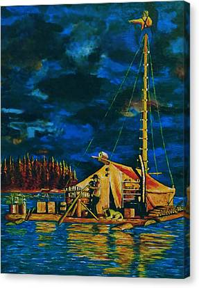 Our Raft Canvas Print by Rick Ritchie