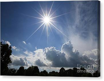 Our Shining Star Canvas Print