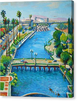 Our Town Canvas Print