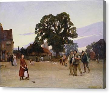 Our Village Canvas Print