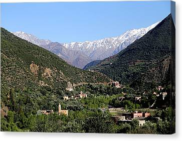 Canvas Print featuring the photograph Ourika Valley 2 by Andrew Fare