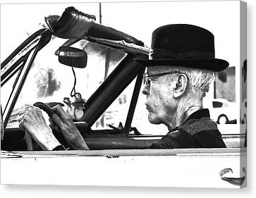 Canvas Print featuring the photograph Out For A Spin by Joe Jake Pratt