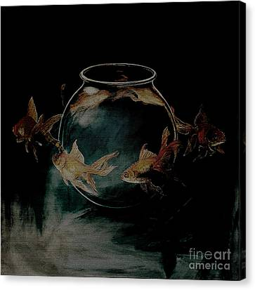 out from Jar  Canvas Print