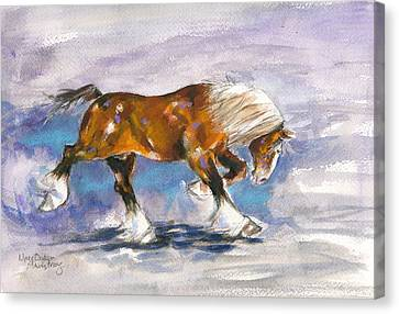Out Front Canvas Print by Mary Armstrong