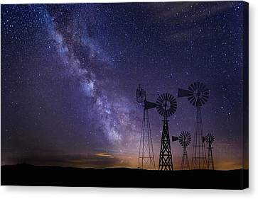 Canvas Print - Our Milky Way  by Andrea Kollo