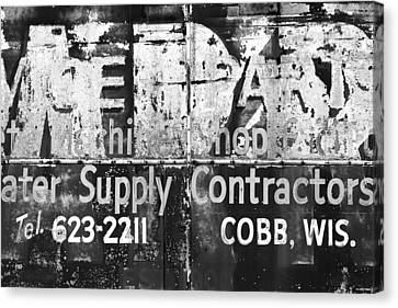 Out Of Business Canvas Print by Todd Klassy