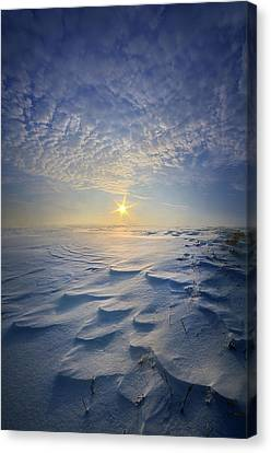 Canvas Print featuring the photograph Out Of The East by Phil Koch