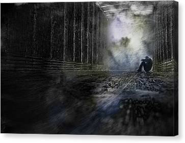 Out Of The Storm Canvas Print by Gray  Artus