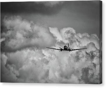 Jet Set Canvas Print - Out Of The Storm by Martin Newman