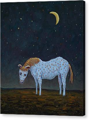 Out To Pasture Canvas Print by James W Johnson