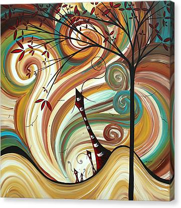 Out West II By Madart Canvas Print by Megan Duncanson