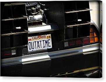 Outatime Canvas Print by Ricky Barnard