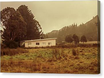 Outback Australia House Canvas Print by Jorgo Photography - Wall Art Gallery