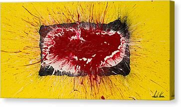 Outburst Canvas Print by Austin Kucera