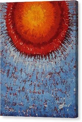 Outburst Original Painting Canvas Print
