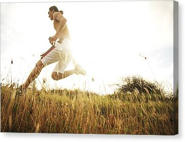 Outdoor Jogging II Canvas Print by Brandon Tabiolo - Printscapes