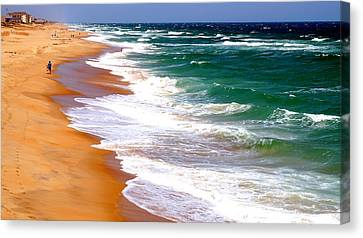 Outer Banks Beach North Carolina Canvas Print