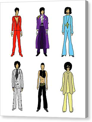 Rain Canvas Print - Outfits Of Prince by Notsniw Art