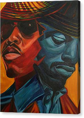 Outkast Canvas Print by Kate Fortin