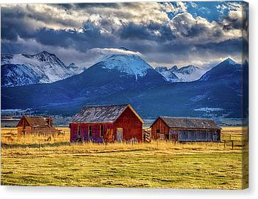 Canvas Print featuring the photograph Outliers by Eric Glaser