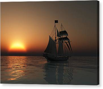 Outward Bound Canvas Print by Timothy McPherson