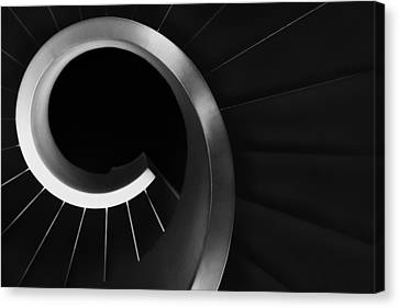 Over And Under Canvas Print by Paulo Abrantes