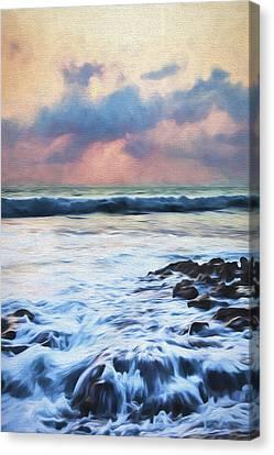 Over Rocks II Canvas Print by Jon Glaser