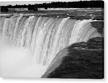 Over The Dam Canvas Print